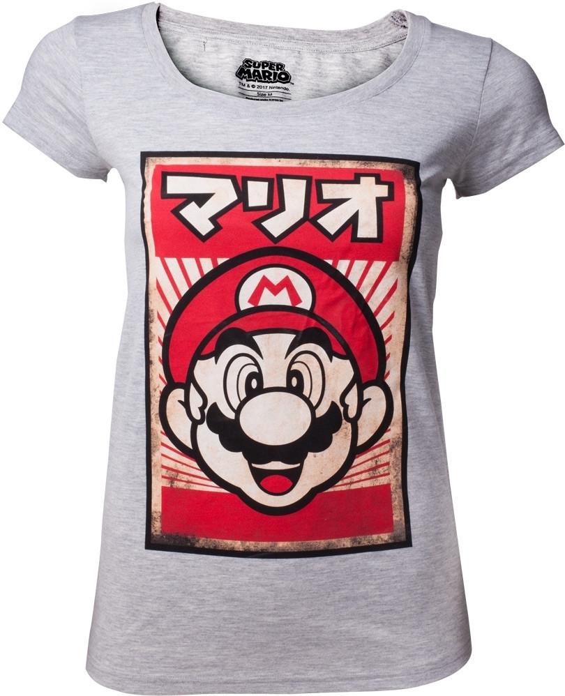 Nintendo - Propaganda Mario Women's T-shirt