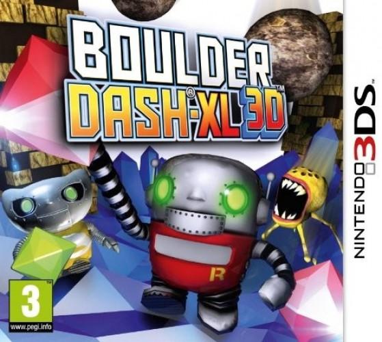 Boulderdash-XL 3D Game 3DS