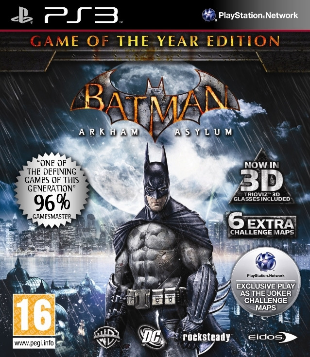 Batman Arkham Asylum (Game of the Year Edition) kopen