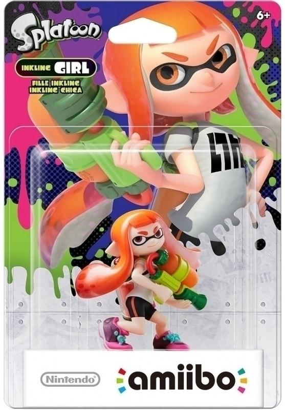 Nintendo amiibo Inkling-Meisje