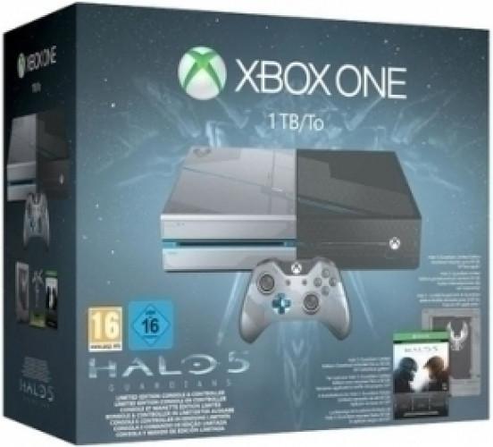 Xbox One 1TB Limited Edition + Halo 5: Guardians bundel