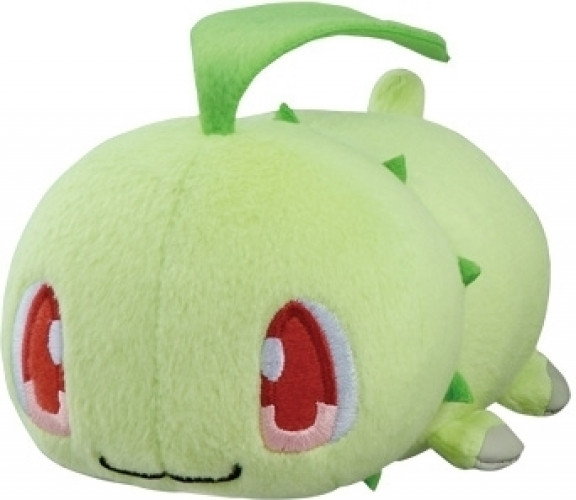 Pokemon Pluche - Chikorita Laying