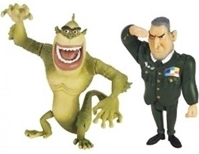 Monsters vs. Aliens Figure Pack D