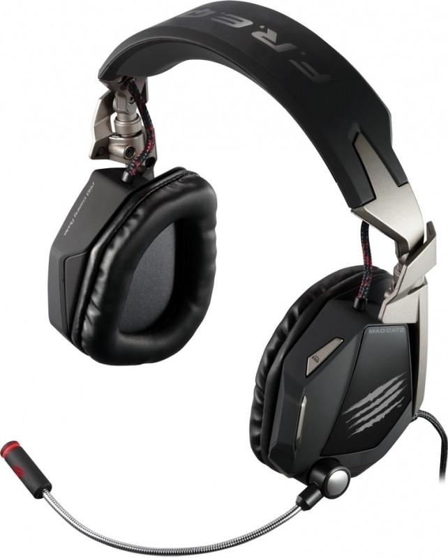 Madcatz F.R.E.Q. 7 Dolby 7.1 Gaming Headset (Matt Black)