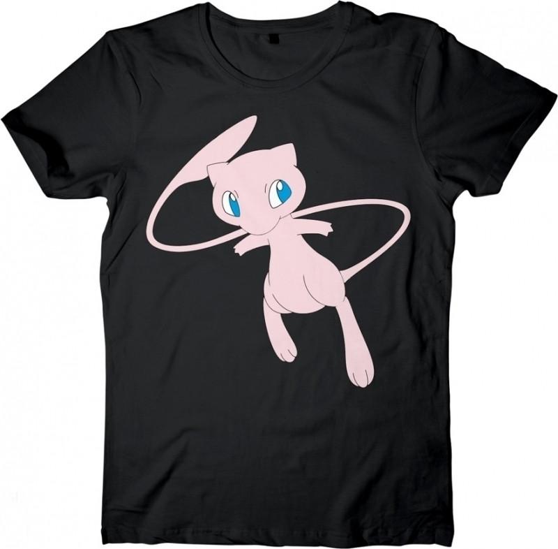 Pokemon - Mew Black T-Shirt