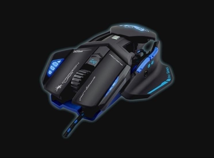 Image of Dragon War Phantom 4.1 Gaming Mouse Blauw