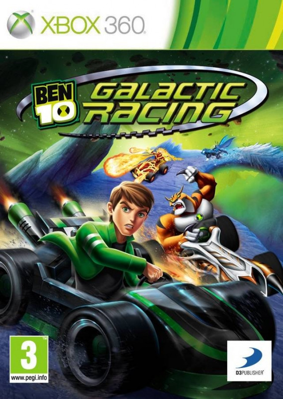 Image of Ben 10 Galactic Racing