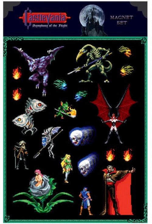 Castlevania - Symphony of the Night Magnet Set kopen