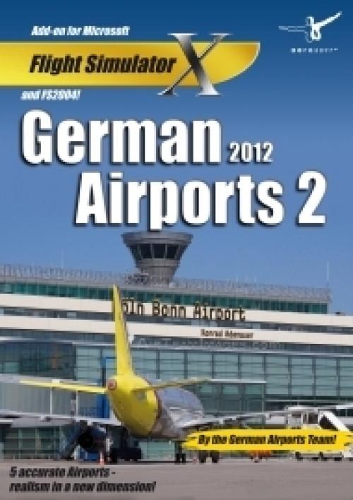 Afbeelding van German Airports 2 2012 (FS X + FS 2004 Add On)