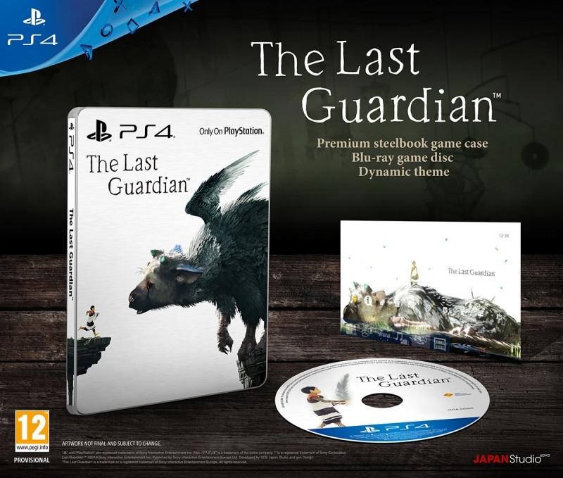 Goedkoopste The Last Guardian (steelbook)