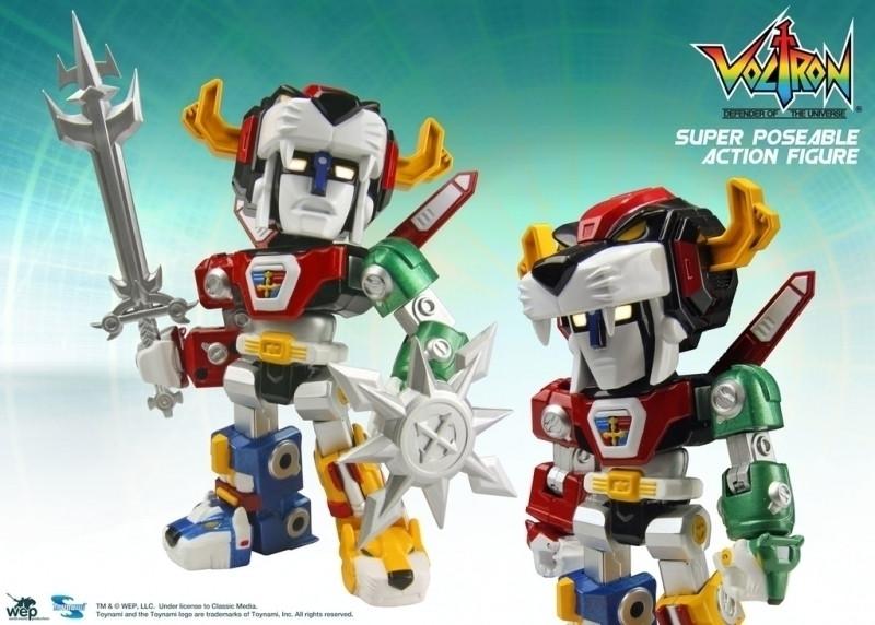 Voltron Lion Force Super Poseable Figure