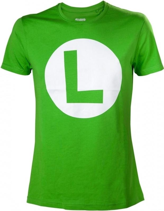 Nintendo - Luigi T-shirt with Big L