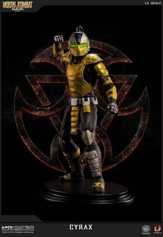 Mortal Kombat Klassic: Regular CYRAX 1:4 scale Statue kopen