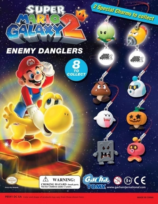 Super Mario Galaxy 2 Enemy Dangler Gashapon