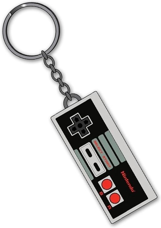 Nintendo Controller Rubberen Sleutelhanger