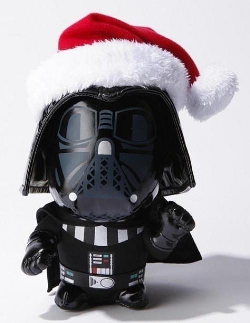 Star Wars 6 Inch Santa Darth Vader Super Deformed Pluche