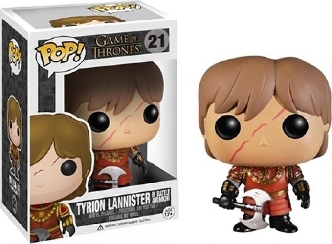 Game of Thrones Pop Vinyl: Tyrion Lannister (In Battle Armor) kopen