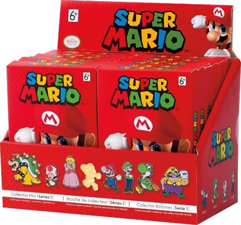 Image of Super Mario Collector Pin