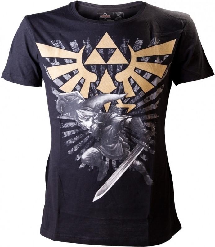 Nintendo Gold Logo Men's T-Shirt XL
