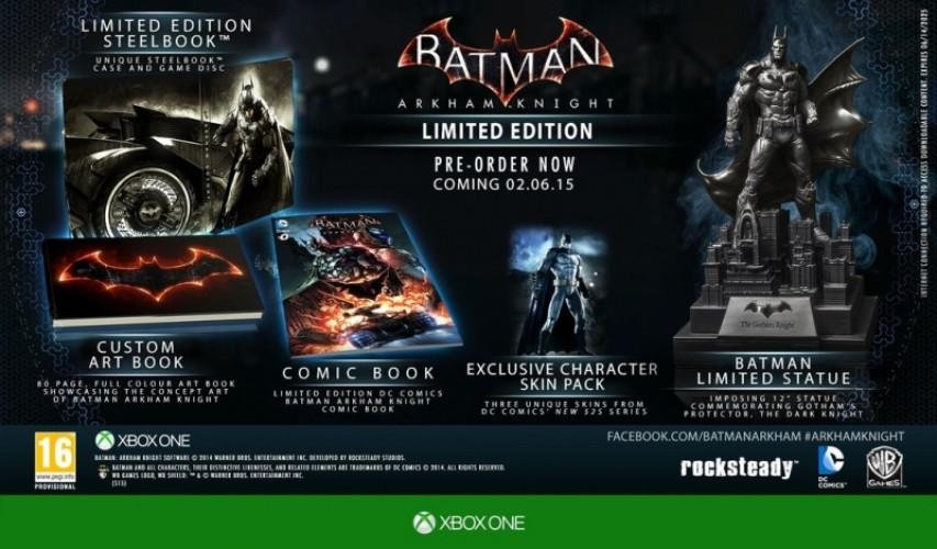 Batman Arkham Knight (Limited Edition) (schade aan doos) kopen
