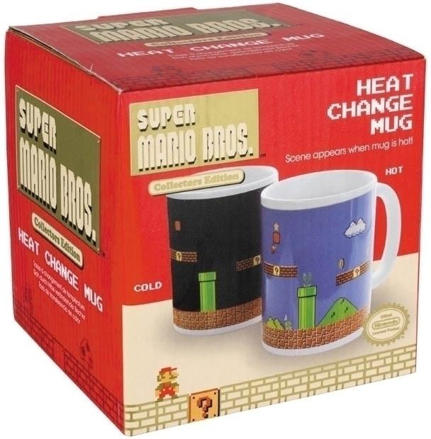 Nintendo - Super Mario Bros. Heat Change Mug