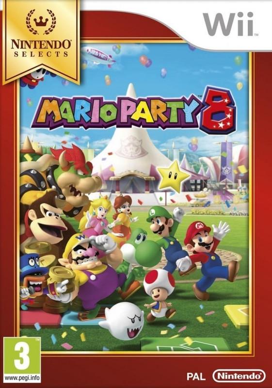 Nintendo Mario Party 8 Select (Wii U)