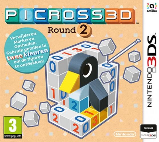 Nintendo Picross 3D Round 2 3DS