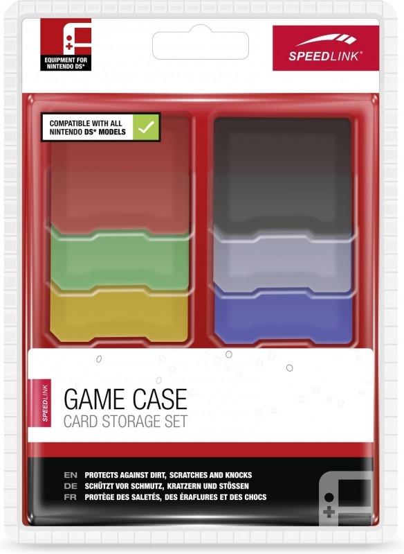 SPEEDLINK Speedlink, GAME CASE Set (Multi-Color) (2DS-3DS-3DS XL) (SL-5305-MTCL-02)