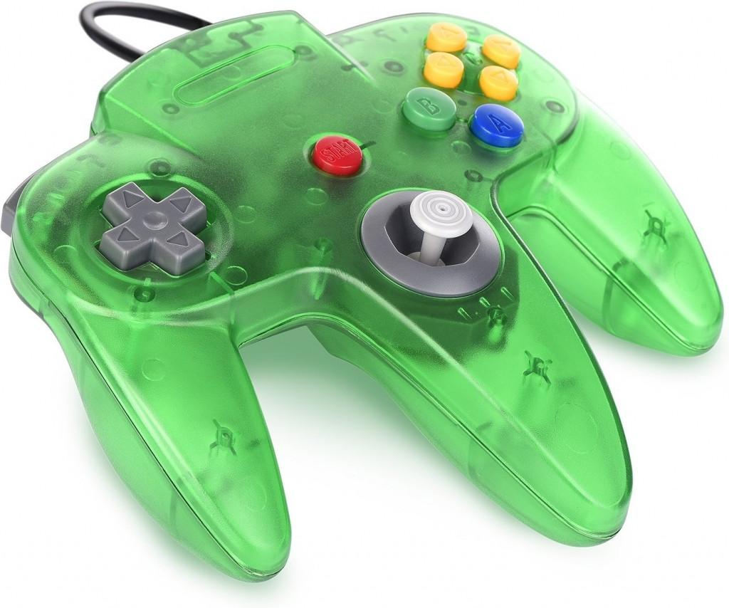 Goedkoopste Nintendo 64 Controller Groen Transparant (TTX Tech)