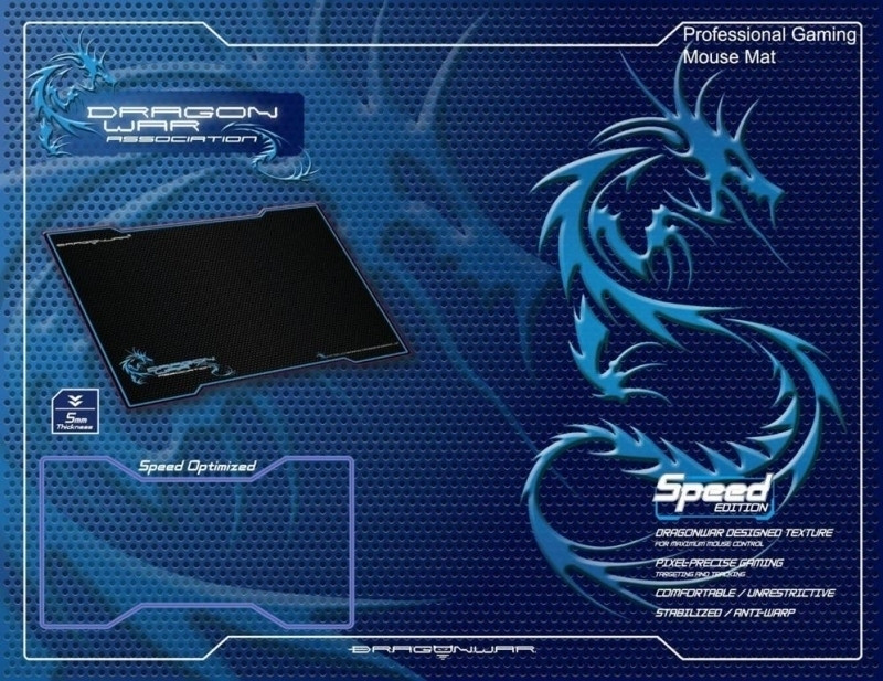 Image of Dragon War Gaming Mousepad Speed Edition