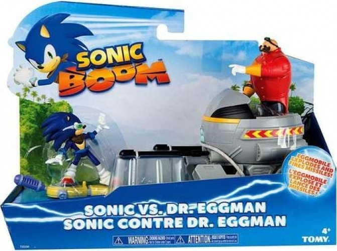 Sonic Boom Action Figure Sonic vs Dr. Eggman
