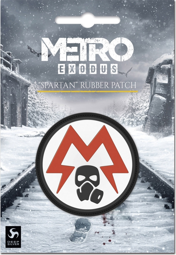 Metro Exodus - Spartan Logo Rubber Patch