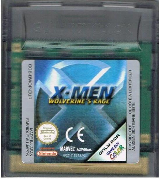 X-Men Wolverine's Rage (losse cassette)