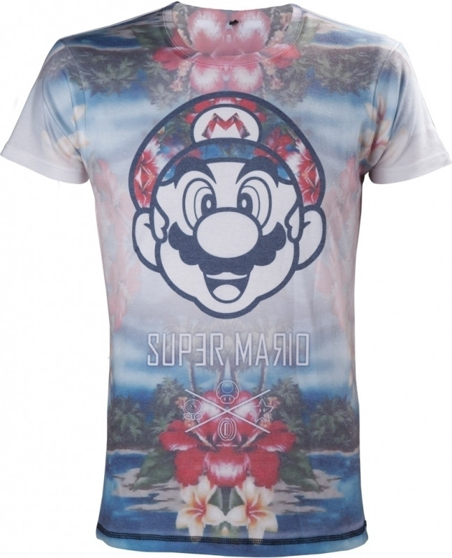 Nintendo - Tropical Mario Men's T-shirt