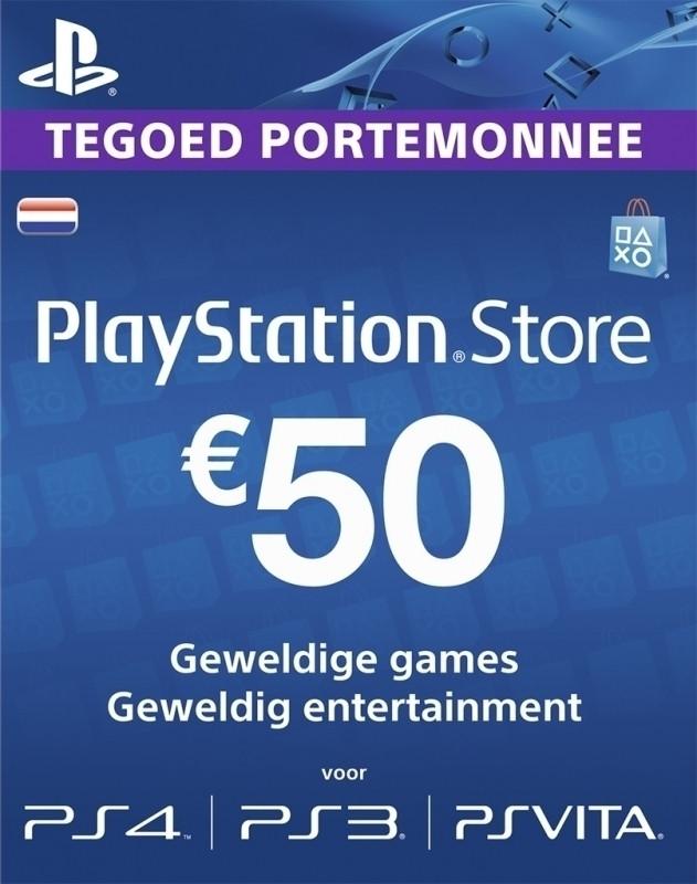Goedkoopste PSN Voucher Card NL - 50 euro