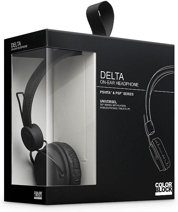 Big Ben Color Block Delta Headphone (Zwart)