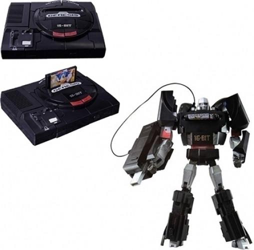 Sega Genesis Megatron Transformer Action Figure