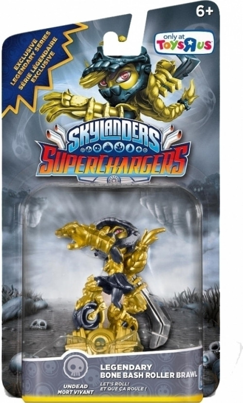 Skylanders superchargers legendary bone bash roller brawl