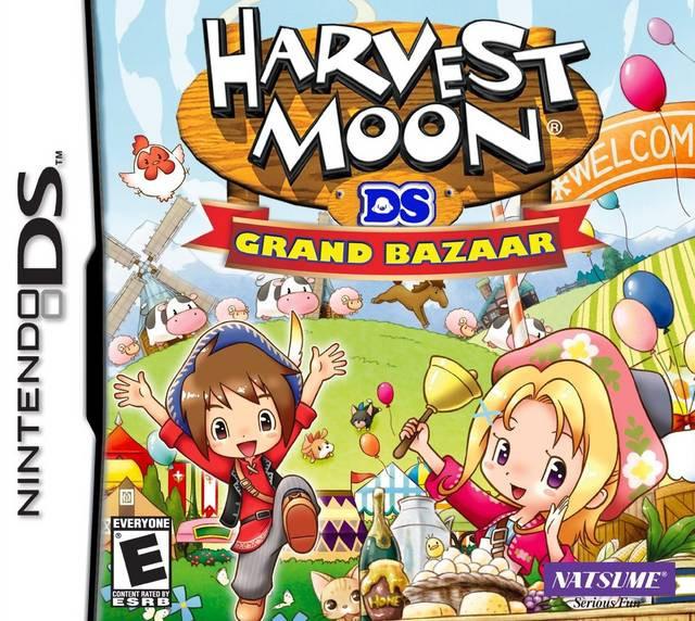 Harvest Moon DS Grand Bazaar
