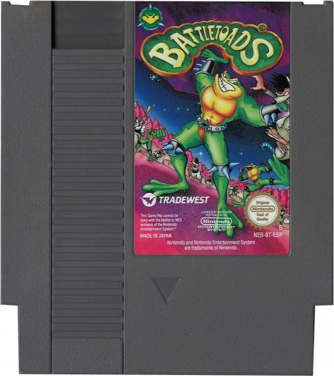 Battletoads (losse cassette)