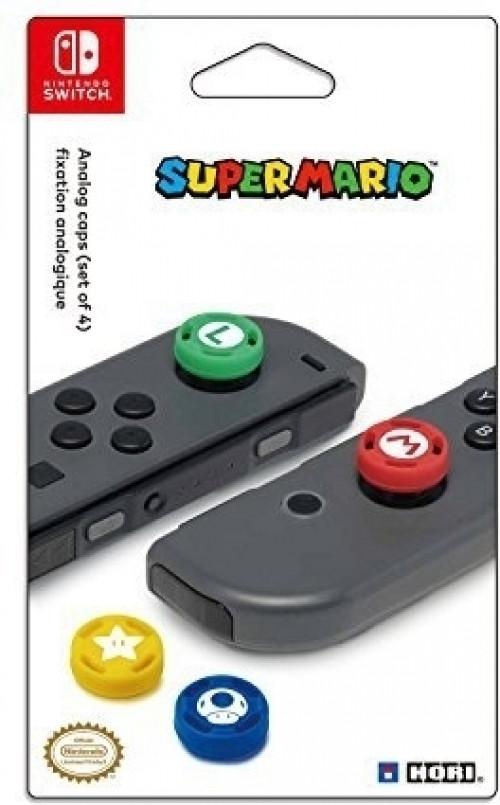 Goedkoopste Hori Super Mario Analog Caps (Set of 4)
