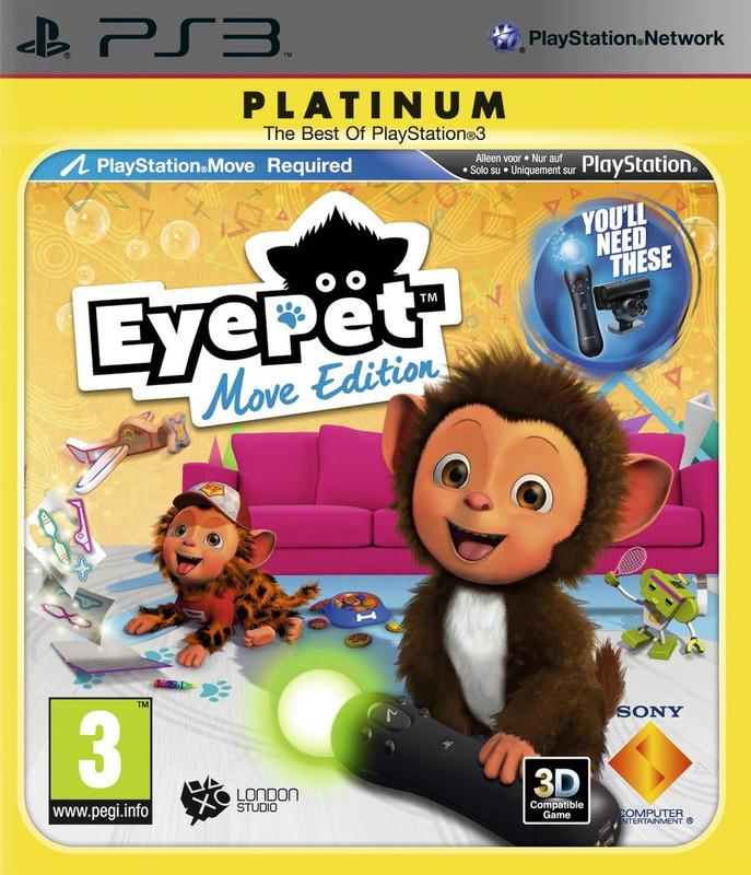 EyePet (Move Edition) (platinum)