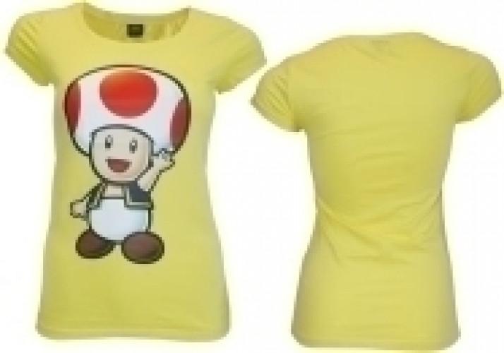 Nintendo T-Shirt Yellow Toad (Girls)