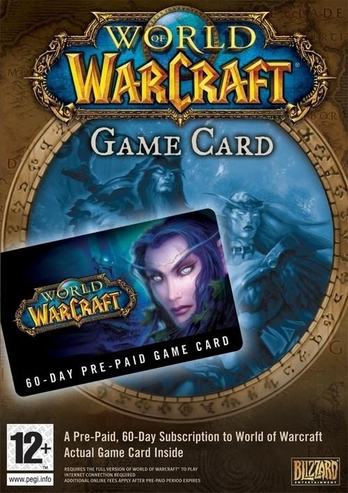 World of Warcraft Game Card (60 Dagen)