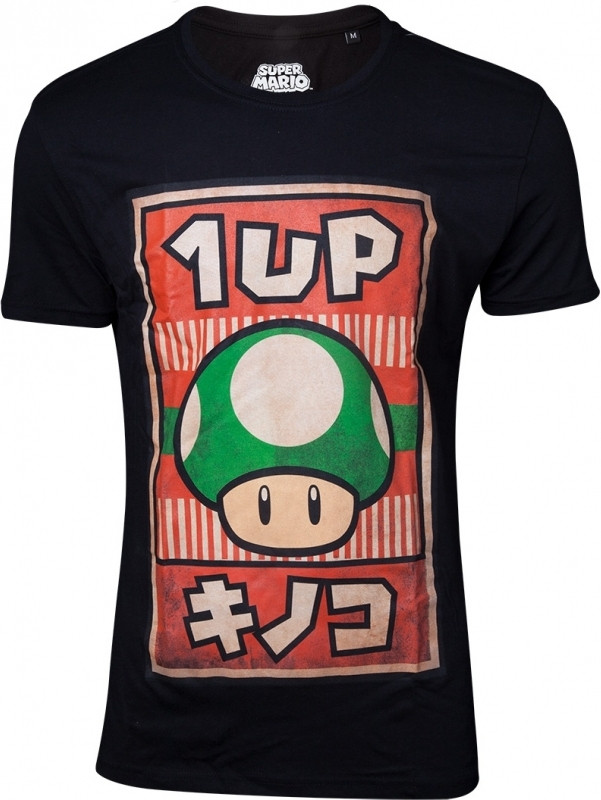 Nintendo - Propaganda Poster Inspired 1-Up Mushroom T-shirt