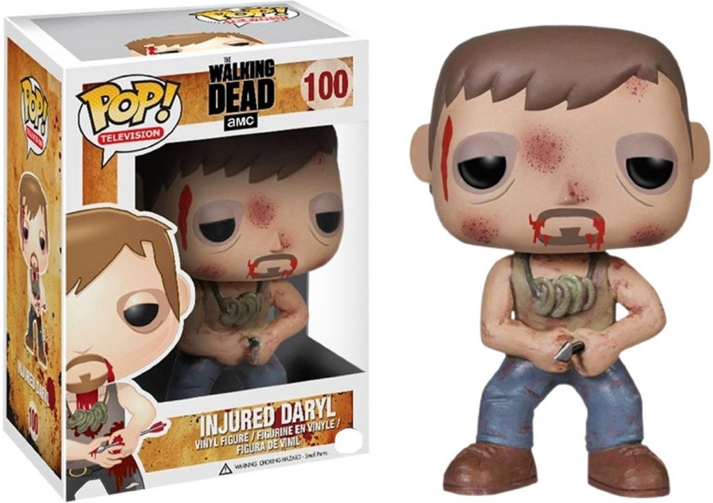 The Walking Dead Pop Vinyl: Injured Daryl kopen