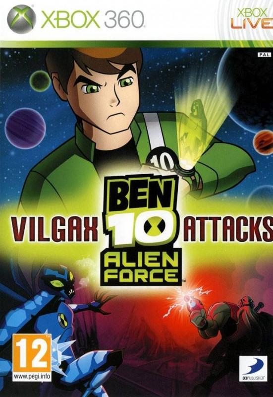Image of Ben 10 Alien Force Vilgax Attacks