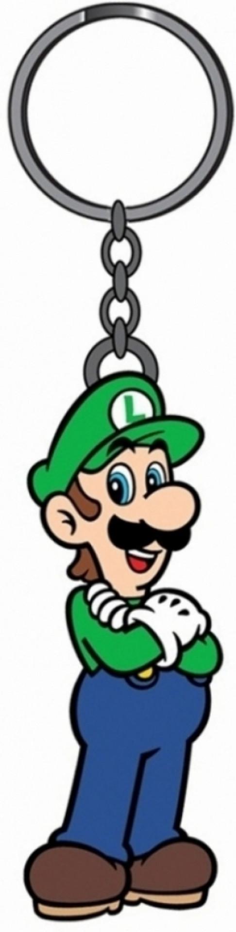 Nintendo Luigi Rubberen Sleutelhanger