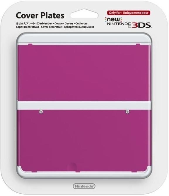 Nintendo New Nintendo 3DS, Coverplate 019 Roze (2213466)