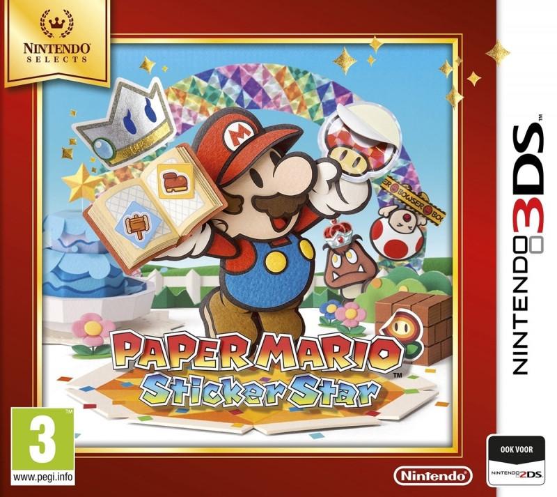 Goedkoopste Paper Mario Sticker Star (Nintendo Selects)
